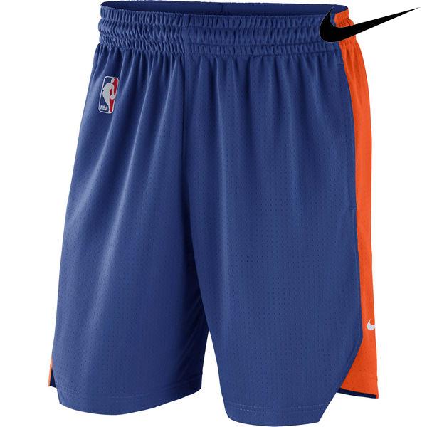 お取り寄せ NBA Nike/ナイキ ニックス プラクティス パフォーマンス ショーツ ブルー