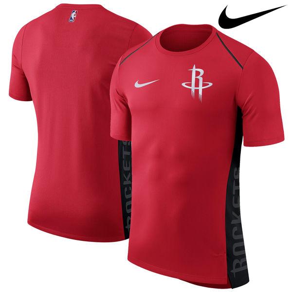 お取り寄せ NBA Nike/ナイキ ロケッツ エリート シューター パフォーマンス Tシャツ レッド