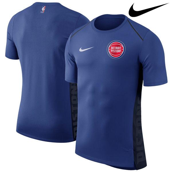 お取り寄せ NBA Nike/ナイキ ピストンズ エリート シューター パフォーマンス Tシャツ ブルー