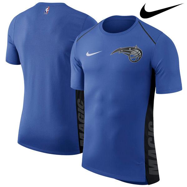 お取り寄せ NBA Nike/ナイキ マジック エリート シューター パフォーマンス Tシャツ ブルー