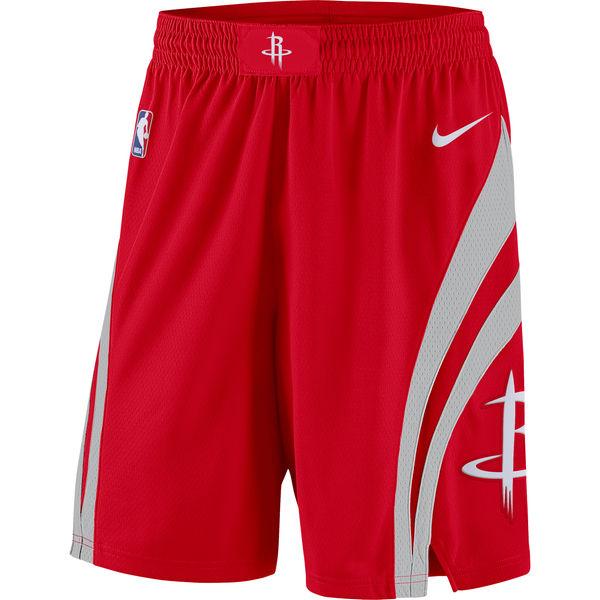 お取り寄せ NBA Nike/ナイキ ロケッツ アイコン スウィングマン バスケットボール ショーツ レッド