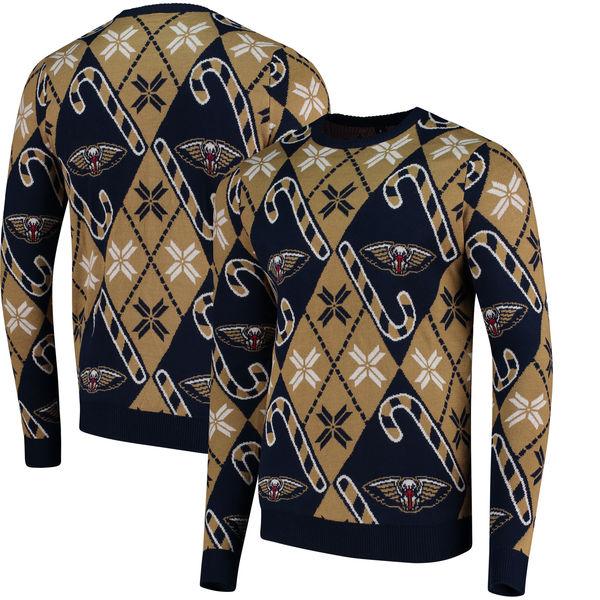 お取り寄せ NBA ペリカンズ キャンディケイン リスペクト セーター