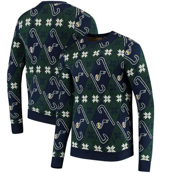 お取り寄せ NBA ジャズ キャンディケイン リスペクト セーター
