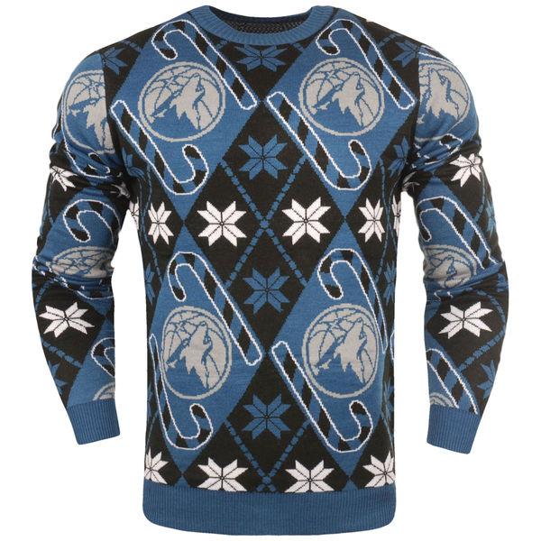 お取り寄せ NBA ティンバーウルブズ キャンディケイン リスペクト セーター