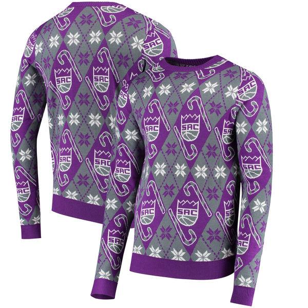お取り寄せ NBA キングス キャンディケイン リスペクト セーター