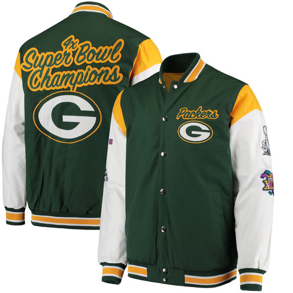 お取り寄せ NFL パッカーズ エリート コメモラティブ ジャケット G-III グリーン