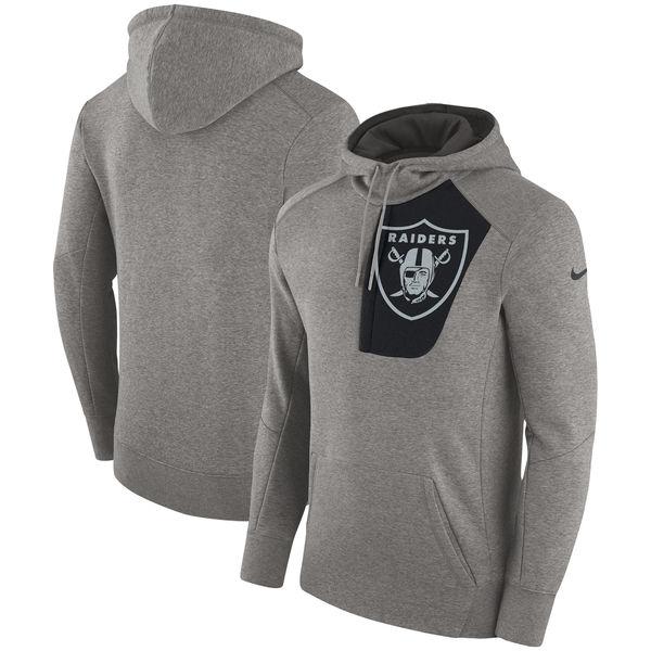 お取り寄せ NFL レイダース フライ フリース プルオーバー パーカー ナイキ/Nike ヘザーグレー