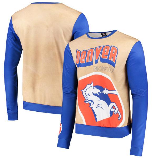 NFL ブロンコス レトロ サブリミテッド セーター ゴールド