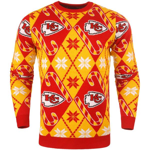 NFL チーフス キャンディ カーン リピート セーター レッド