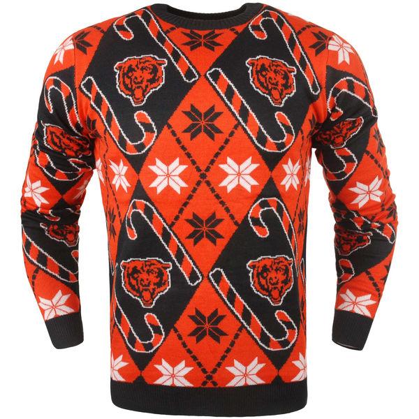 NFL ベアーズ キャンディ カーン リピート セーター オレンジ