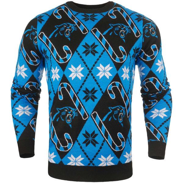 お取り寄せ NFL パンサーズ キャンディ カーン リピート セーター ブルー