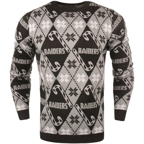 お取り寄せ NFL レイダース キャンディ カーン リピート セーター ブラック