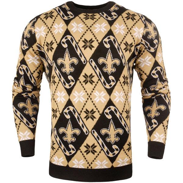 NFL セインツ キャンディ カーン リピート セーター ブラック