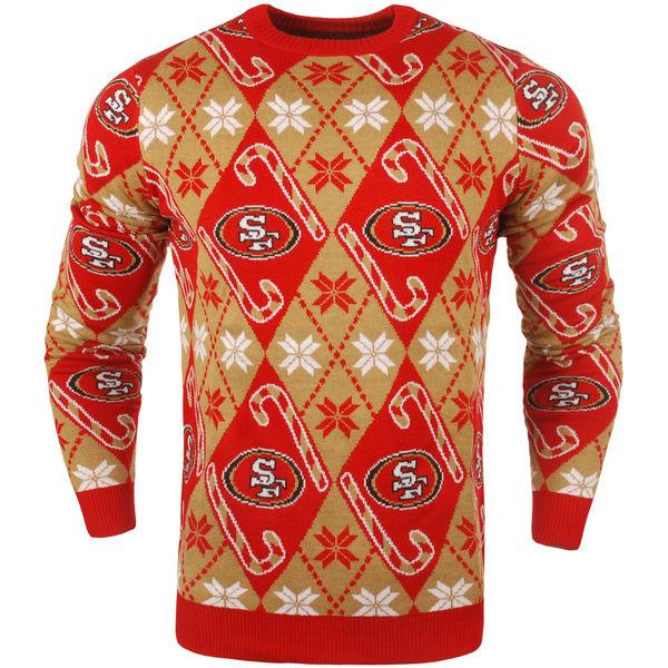 NFL 49ers キャンディ カーン リピート セーター スカーレット