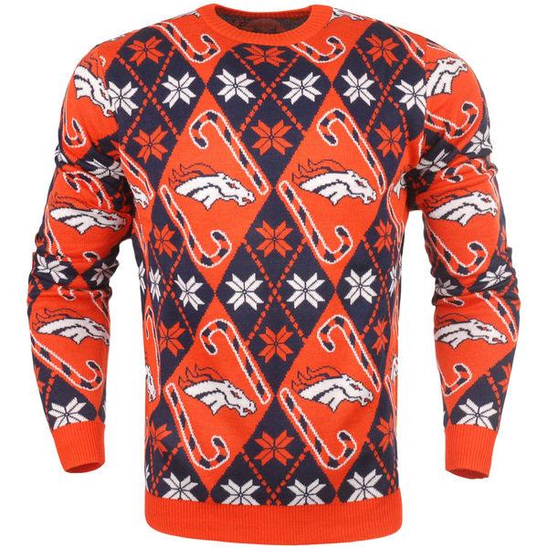 お取り寄せ NFL ブロンコス キャンディ カーン リピート セーター オレンジ