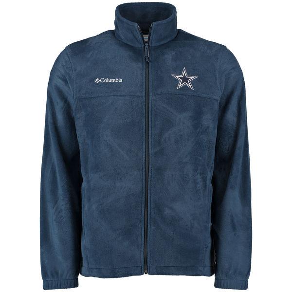 お取り寄せ NFL カウボーイズ フランカー ポーラー フルジップ フリース ジャケット コロンビア/Columbia ネイビー