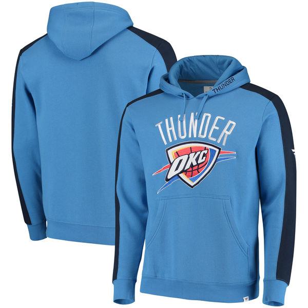 お取り寄せ NBA サンダー アイコニック フリース パーカー/トレーナー ブルー