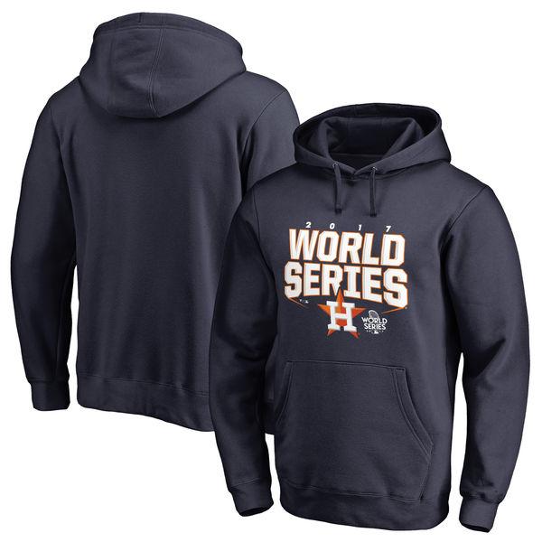 お取り寄せ MLB アストロズ 2017 ワールドシリーズ進出記念 チョッパー パーカー ネイビー