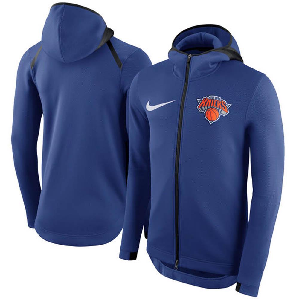 NBA Nike/ナイキ ニックス サーマ フレックス フルジップ パーカー ラッシュブルー