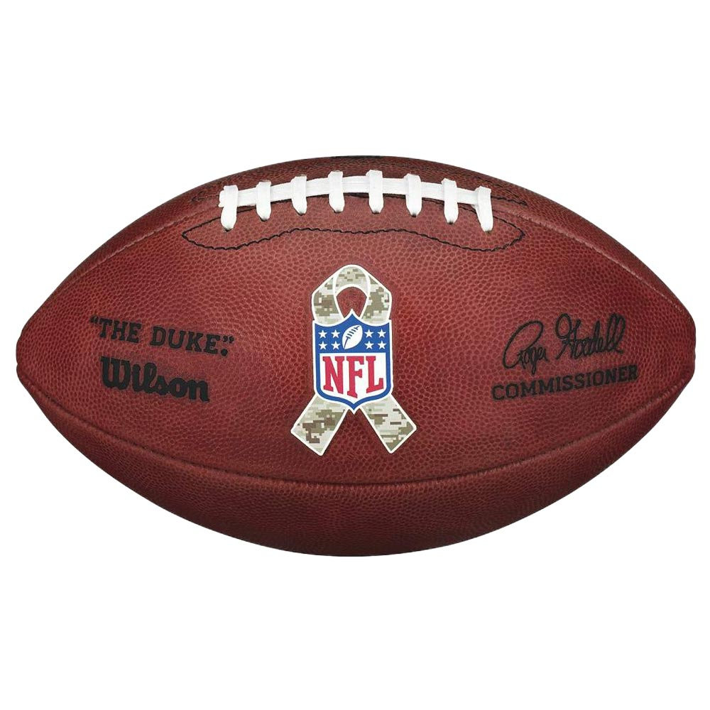 NFL The Duke オフィシャル ゲームボール Salute to Service ウィルソン/Wilson【1904NFLセール】
