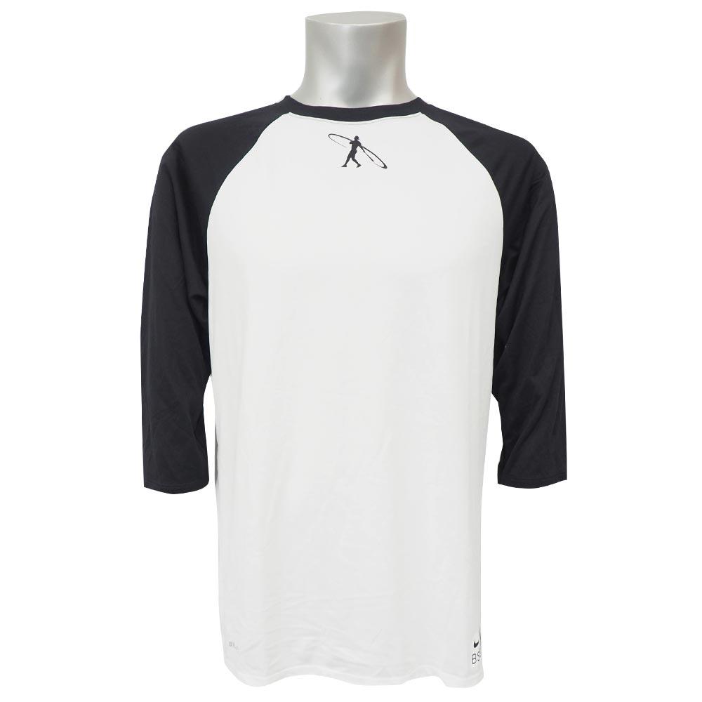 ケン・グリフィーJR. レジェンド 3/4 スリーブ ラグラン Tシャツ ナイキ/Nike ホワイト 845713-100 レアアイテム トレーニング特集