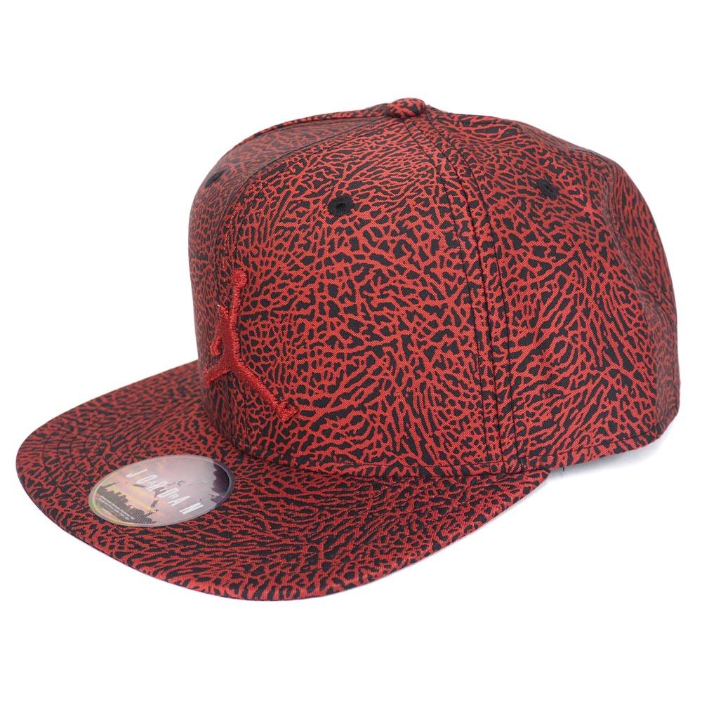 714fd93b7f6 Nike Jordan /NIKE JORDAN jump man elephant snapback cap / hat red / black  776,311 ...