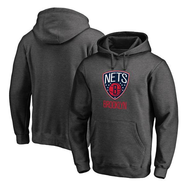 お取り寄せ NBA ネッツ Hoops for Troops プルオーバー パーカー アッシュ