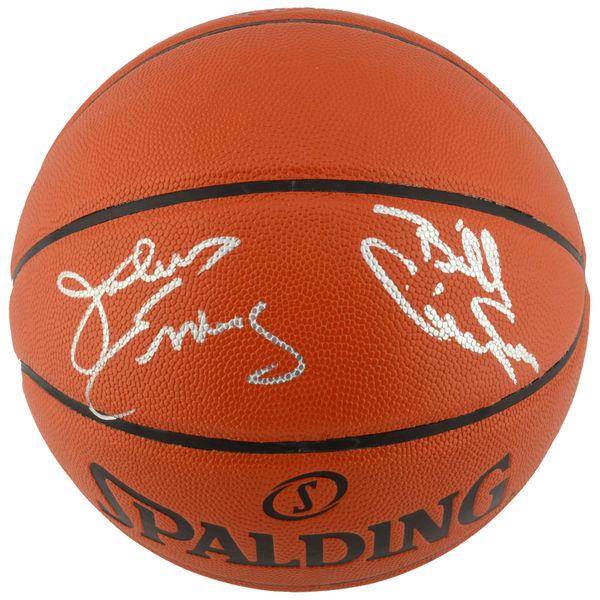 お取り寄せ NBA 76ers ジュリアス・アービング/ビリー・カニンガム 直筆サイン バスケットボール