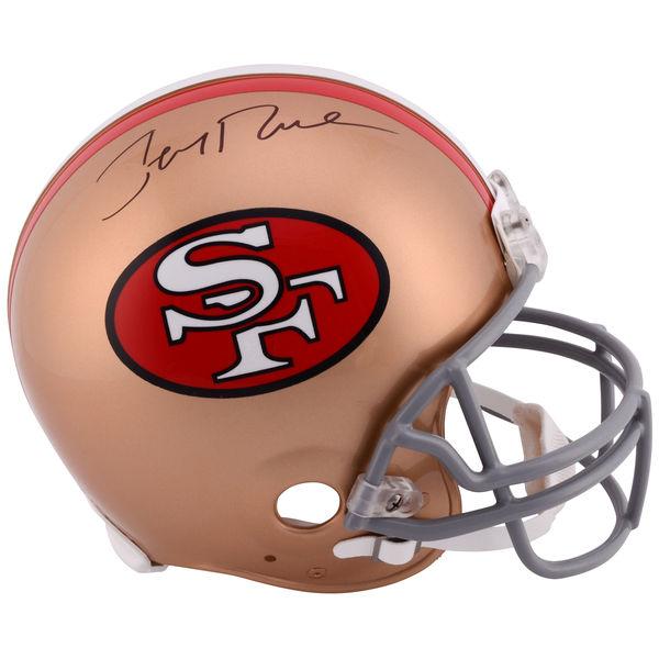 お取り寄せ NFL 49ers ジェリー・ライス 直筆サイン入り オーセンティック ヘルメット リデル/Riddell