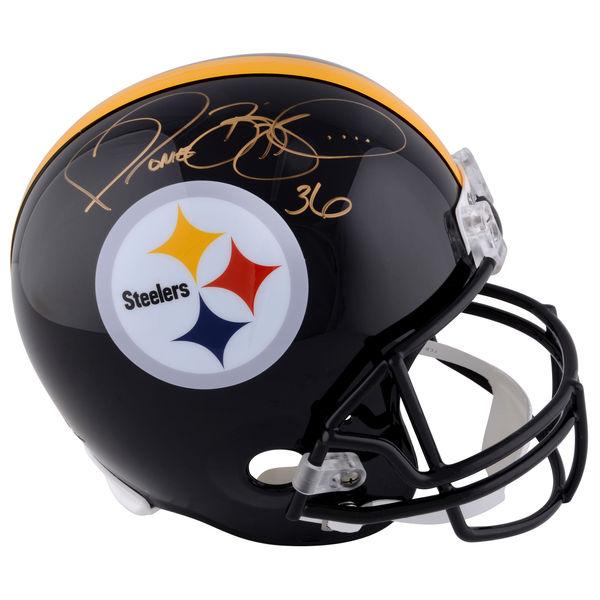 お取り寄せ NFL スティーラーズ ジェローム・ベティス 直筆サイン入り オーセンティック ヘルメット リデル/Riddell