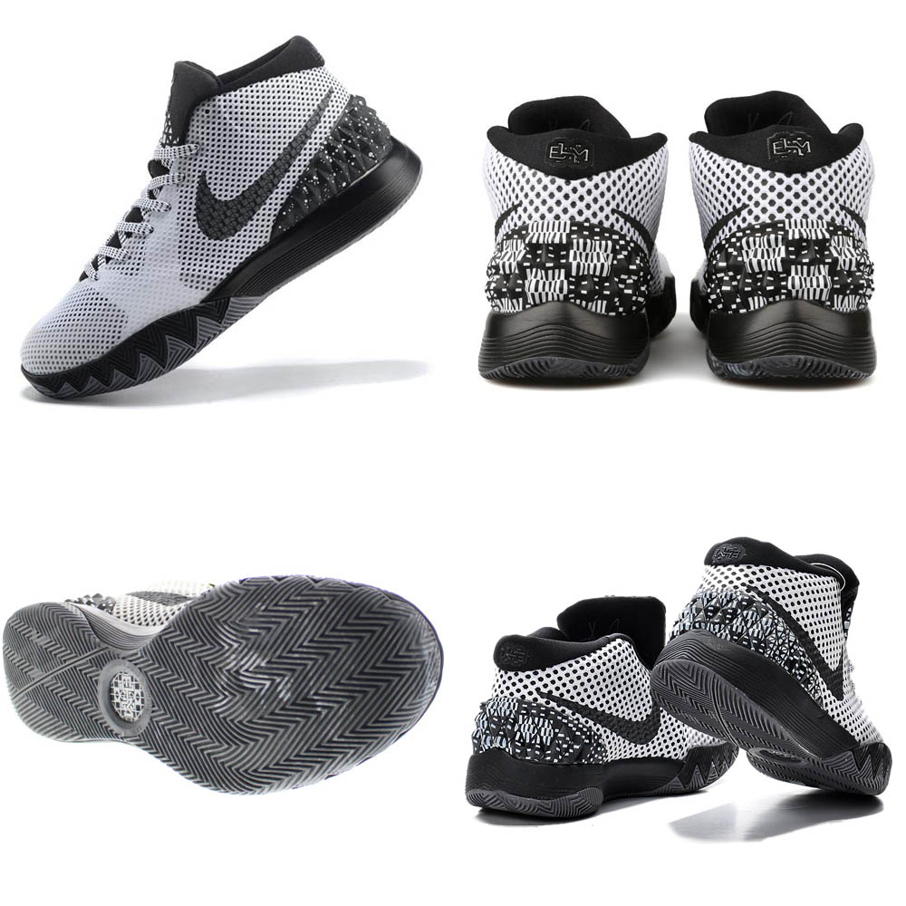 new arrival 479cd f6d20 Nike chi Lee  NIKE KYRIE chi Lee Irving chi Lee 1 BHM KYRIE 1 BHM shoes    basketball shoes black   dark gray 718,820-100