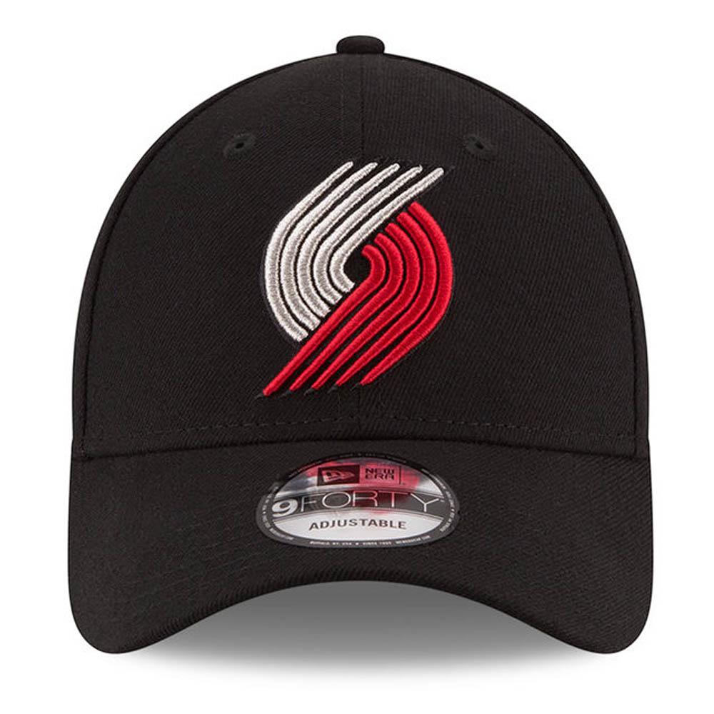 buy online 17552 32382 ... NBA Trail Blazers the league 9FORTY adjuster bulldog cap   hat new  gills  New Era ...