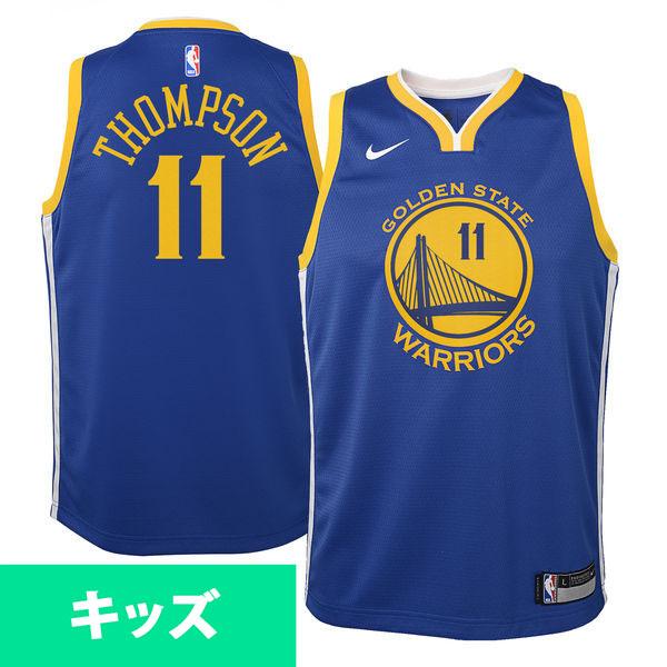 お取り寄せ NBA ウォリアーズ クレイ・トンプソン スウィングマン キッズ ユニフォーム/ジャージ ナイキ/Nike アイコン