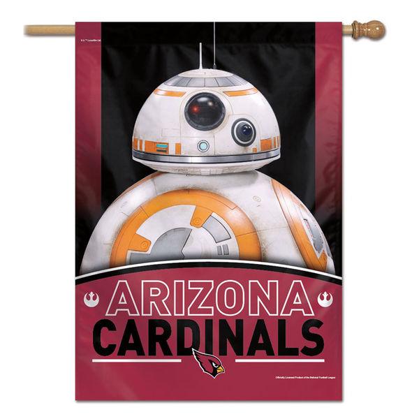NFL カーディナルス スター・ウォーズ シングルサイド ハウス バナー フラッグ/旗 ウィンクラフト/WinCraft