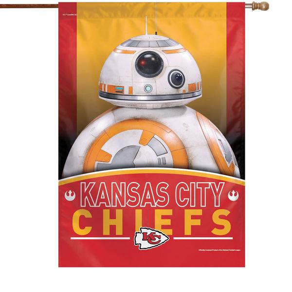 NFL チーフス スター・ウォーズ シングルサイド ハウス バナー フラッグ/旗 ウィンクラフト/WinCraft