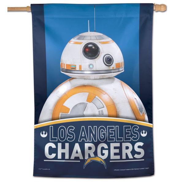 NFL チャージャーズ スター・ウォーズ シングルサイド ハウス バナー フラッグ/旗 ウィンクラフト/WinCraft