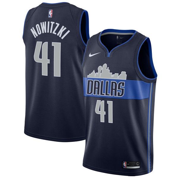 お取り寄せ Nike/ナイキ NBA マーベリックス ダーク・ノビツキー スウィングマン ユニフォーム/ジャージ ステートメント エディション