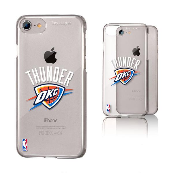 お取り寄せ NBA サンダー iPhone 6/6s/7/8 クリア ケース【1910価格変更】