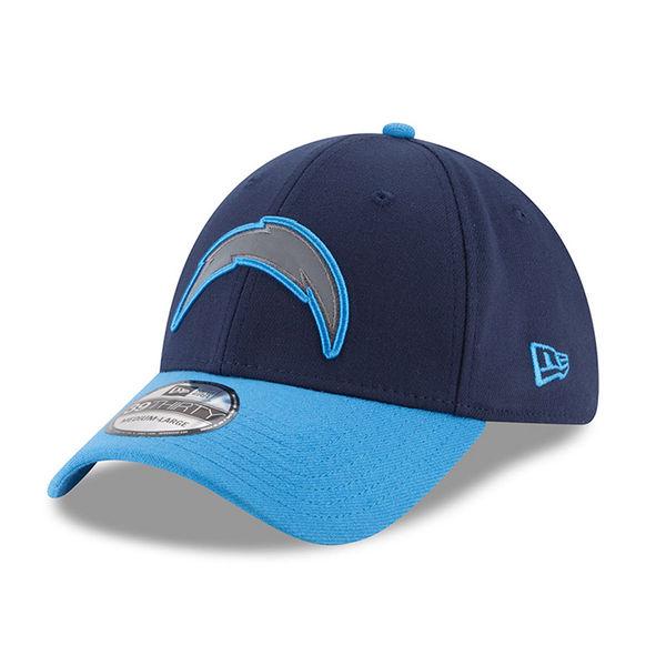 NFL チャージャーズ サンクス ギビング サイドライン 39THIRTY フレックス キャップ/帽子 ニューエラ/New Era ネイビー