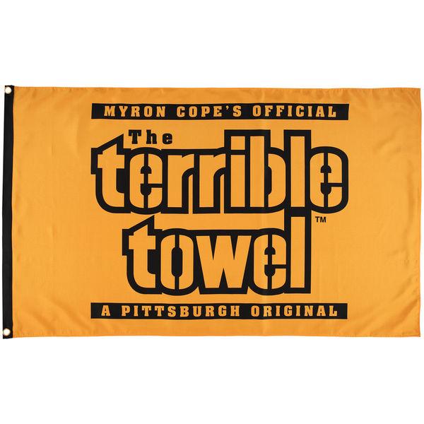 NFL スティーラーズ テリブル タオル ワンサイデッド フラッグ
