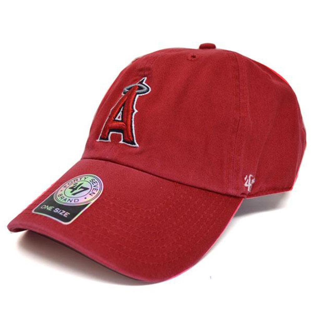 エンゼルス キャップ MLB クリーンナップ アジャスタブル 47 Brand ホーム【0702価格変更】【1910価格変更】【191028変更】