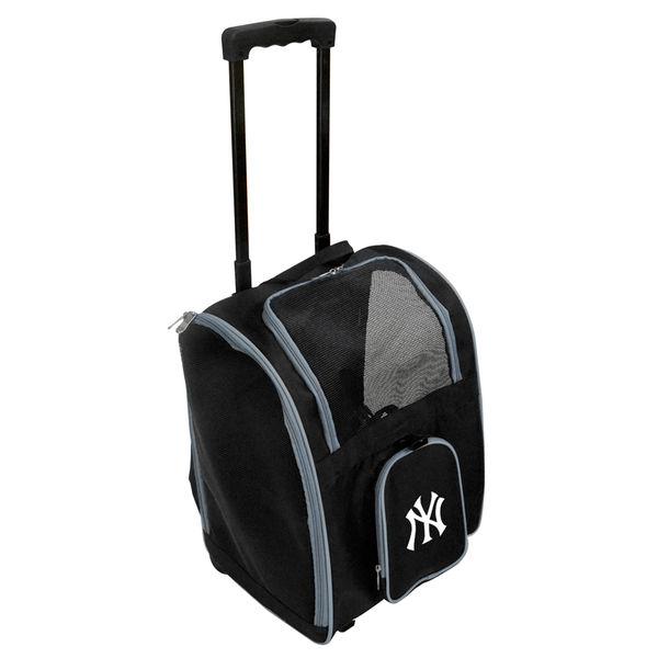 お取り寄せ MLB ヤンキース ローラー ペット キャリーバッグ/キャリーケース