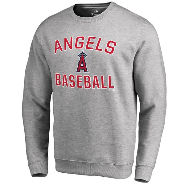 お取り寄せ MLB エンゼルス ビクトリー アーチ プルオーバー スウェット アッシュ