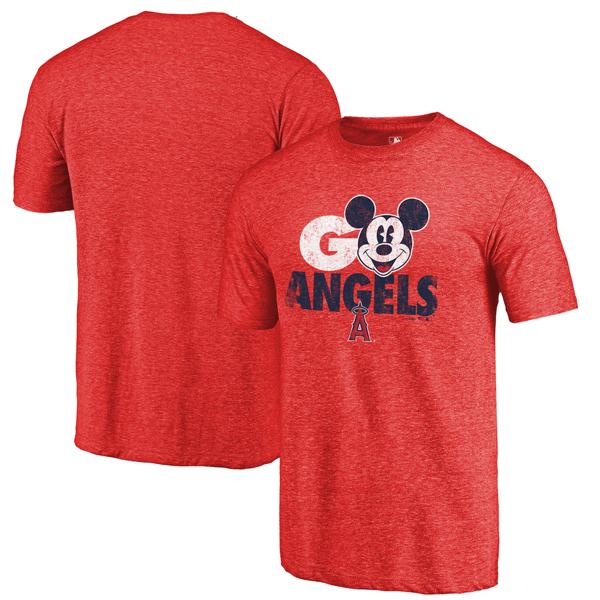 お取り寄せ MLB エンゼルス スター・ウォーズ ジェダイ ストロング Tシャツ レッド