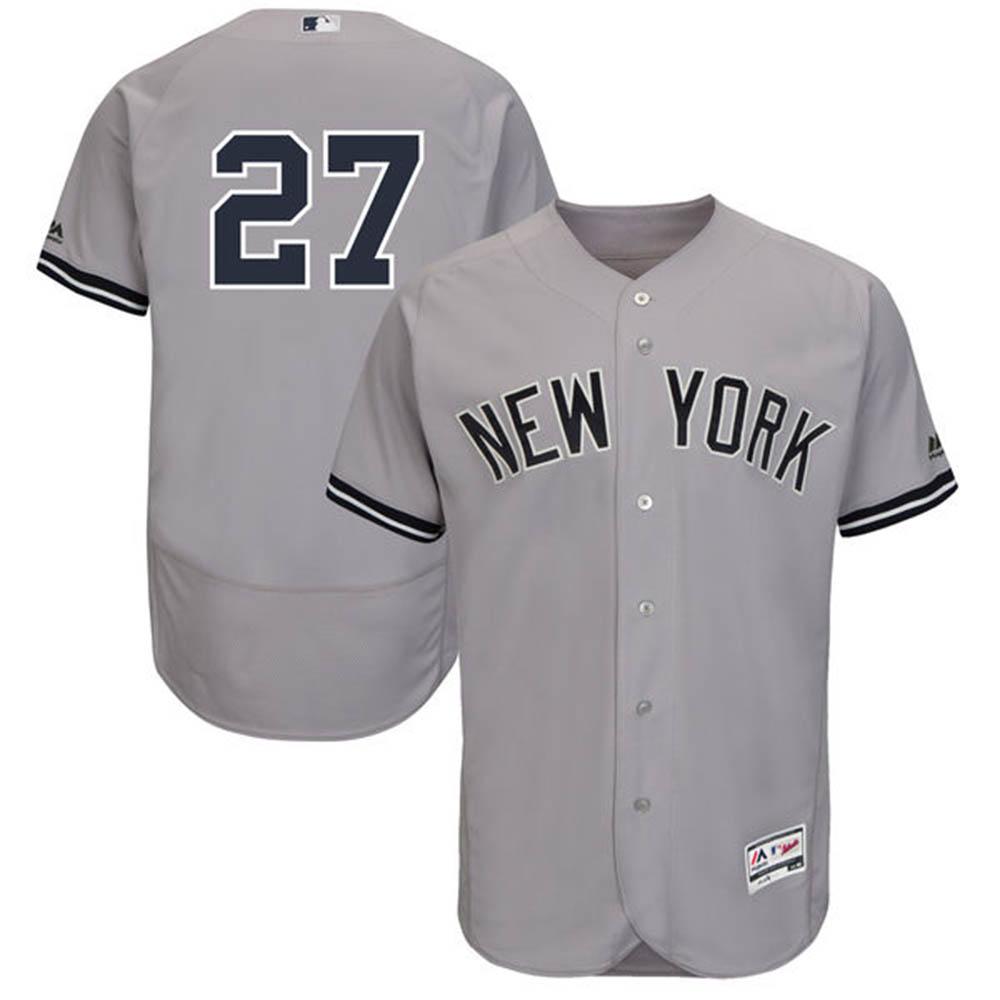 お取り寄せ MLB ヤンキース ジャンカルロ・スタントン フレックスベース オーセンティック プレイヤー ユニフォーム マジェスティック/Majestic ロード