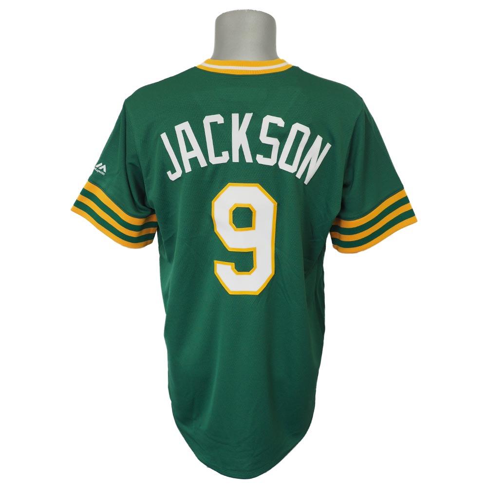 MLB アスレチックス レジー・ジャクソン クーパーズタウン コレクション クールベース ユニフォーム/ユニホーム マジェスティック/Majestic グリーン