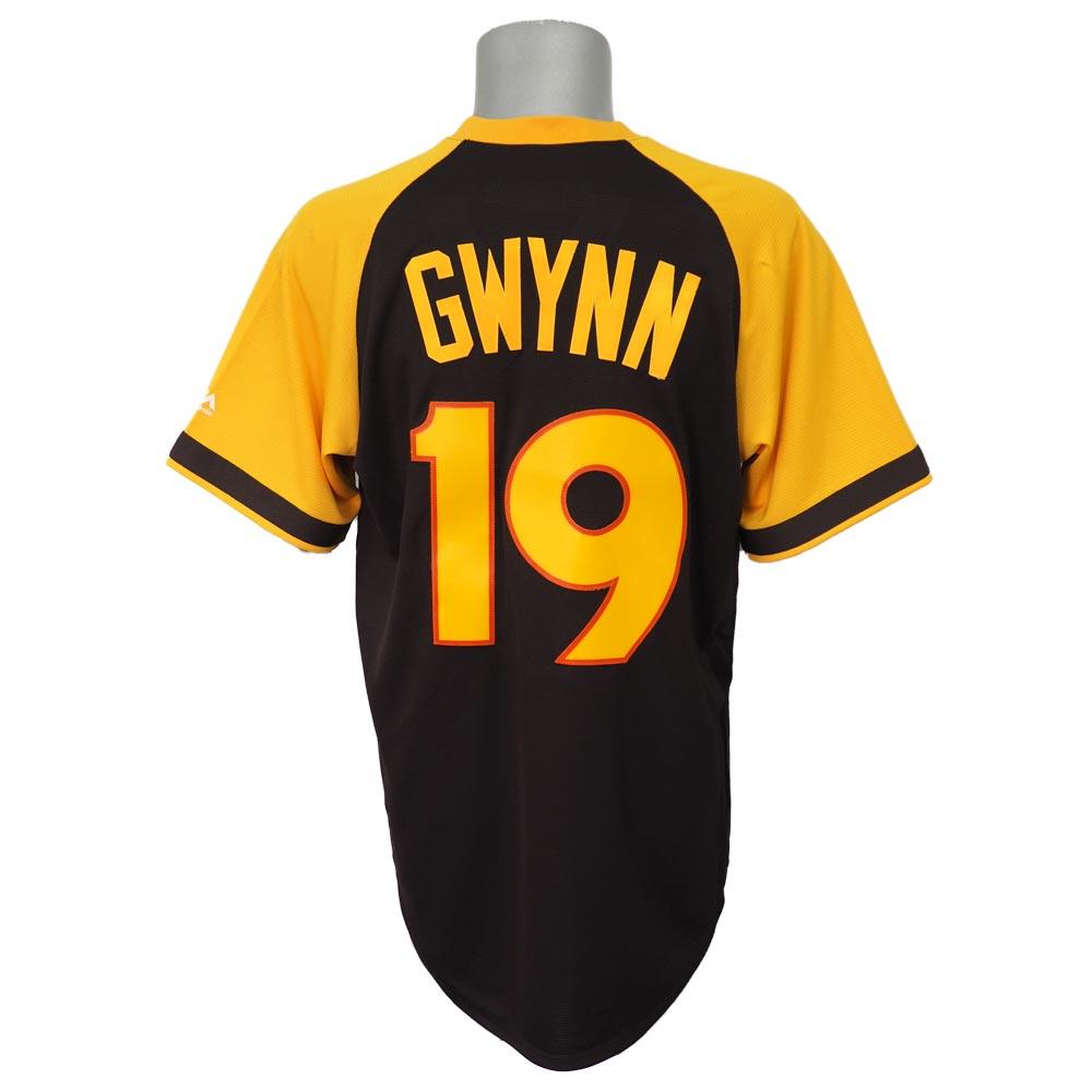 MLB パドレス トニー・グウィン クーパーズタウン コレクション クールベース ユニフォーム/ユニホーム マジェスティック/Majestic ブラウン