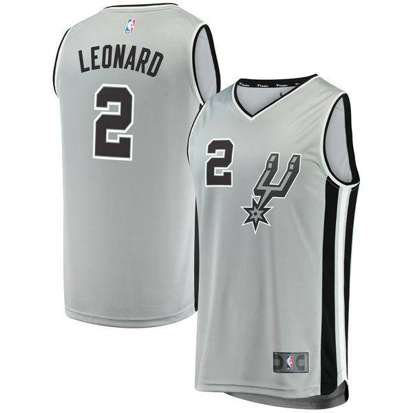 お取り寄せ NBA スパーズ カワイ・レナード ファストブレーク レプリカ ユニフォーム/ジャージ ステートメント エディション