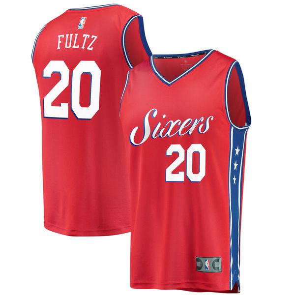 お取り寄せ NBA 76ers マーケル・フルツ ファストブレーク レプリカ ユニフォーム/ジャージ ステートメント エディション