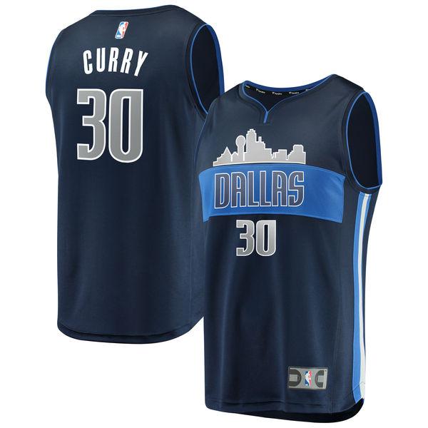 お取り寄せ NBA マーベリックス セス・カリー ファストブレーク レプリカ ユニフォーム/ジャージ ステートメント エディション